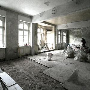 Sanierung im Altbau und Umbau zu Schulräumen