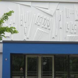 Instandsetzung des Eingangsportals Mittelschule Neptunweg