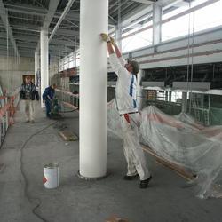 Brandschutzarbeiten am Flughafen Nürnberg TCT