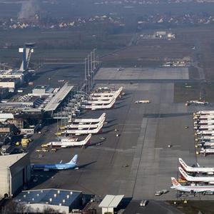 Brandschutz und Malerarbeiten am Flughafen Nürnberg